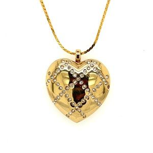 Pre💛 Monet Locket Pendant Necklace